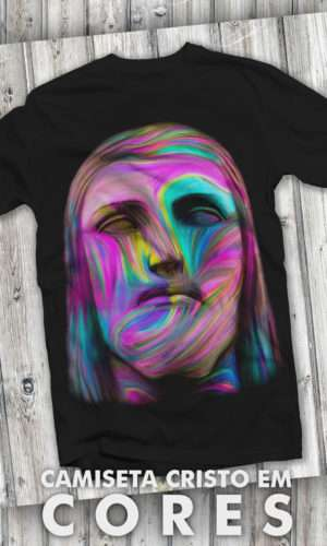Camiseta – Cristo Redentor em Cores