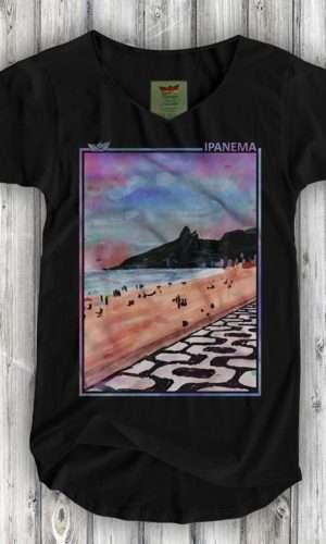 Camiseta Aquarela de Ipanema