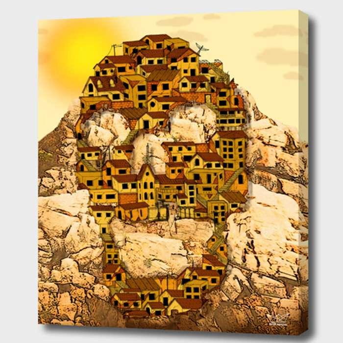 Quadro Caveira Favela