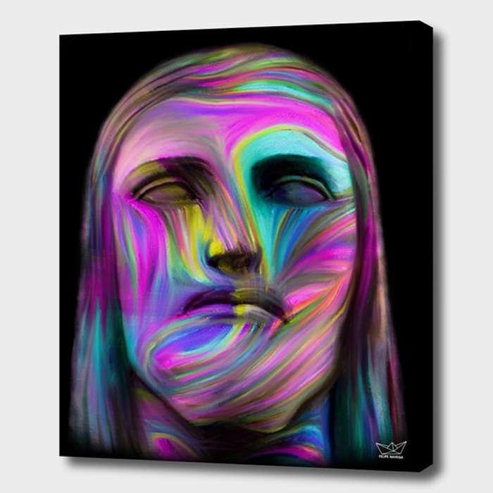 cristo redentor em cores