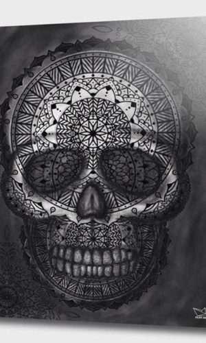 Caveira Mandala
